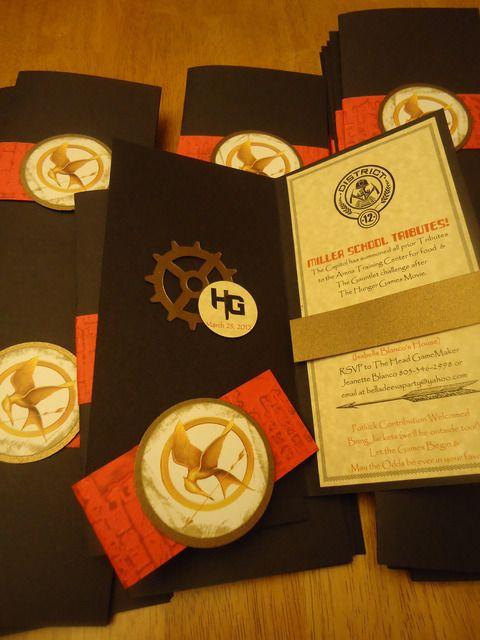 """Photo 24 of 31: Hunger Games / Movie Night """"Hunger Games Premier Party""""   Catch My Party"""