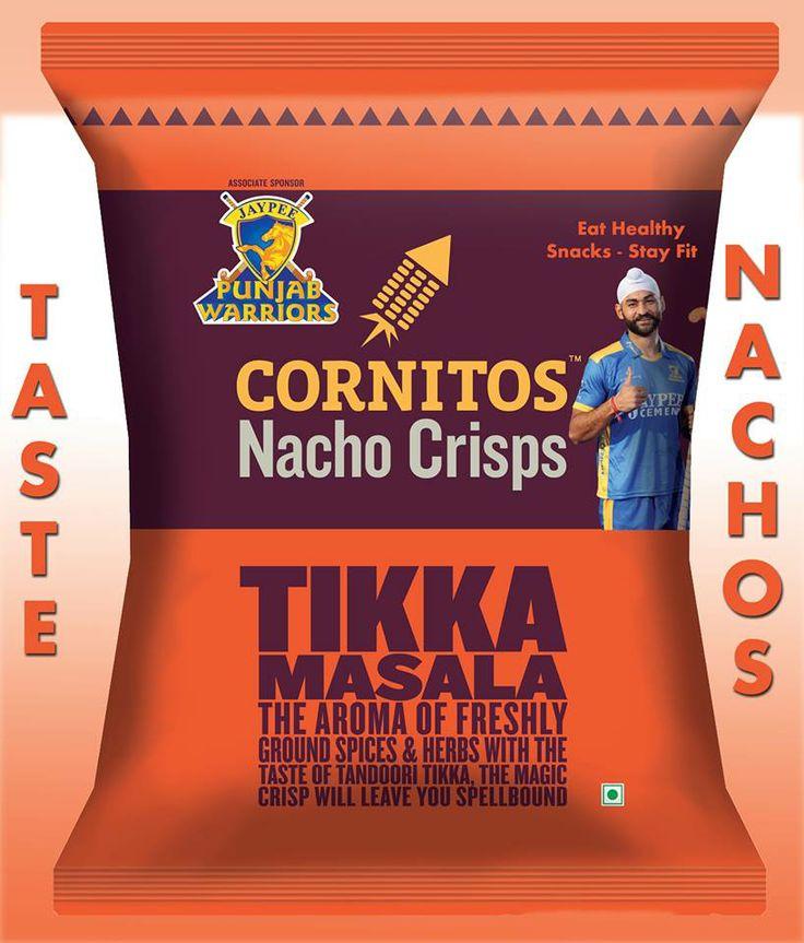 CORNITOS! Tikka Masala: Flavor that leaves a lasting impression, just like a Punjab Warriors match.