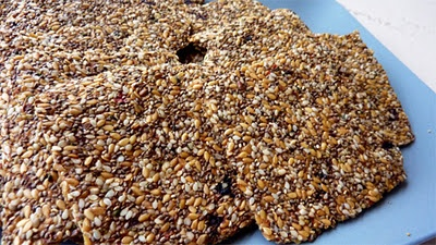 chia crackers and lots more yummy recipes!