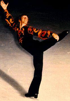 toller cranston...a skating innovator...