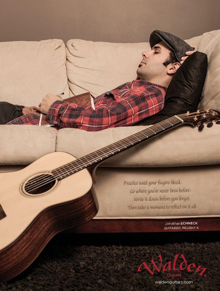 Walden Guitar Jonathan Schneck ADs