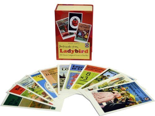Postcards from Ladybird: 100 Classic Ladybird Covers in One Box, ISBN 9781409311522