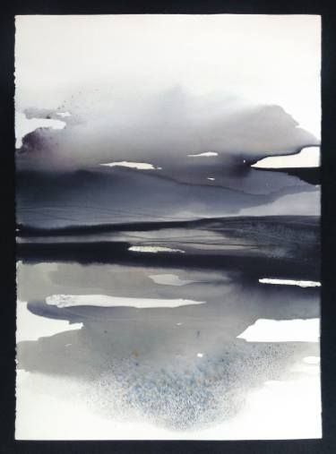 """""""Words in Winter, like the Wind..."""" - Abstract Landscape, Sabrina Garrasi"""