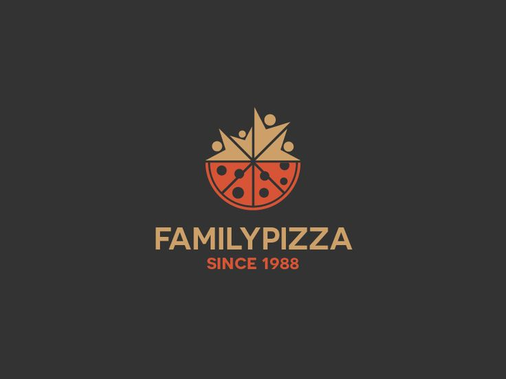 Family Pizza Logo Design