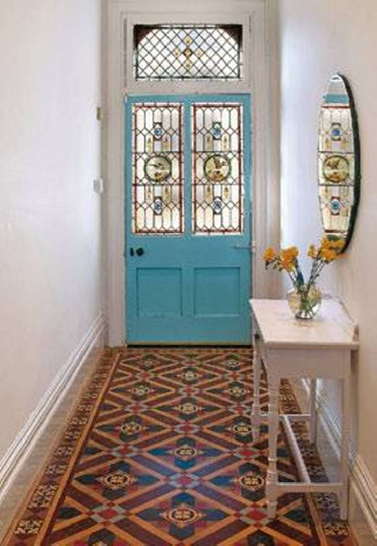 Home Design and Decor , Liven Up The Small Hallways : Small Hallways  Decorating With Oval