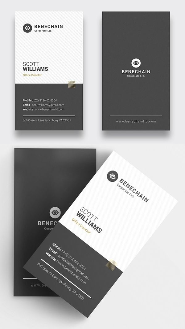 White Modern Business Card Modern Business Cards Architecture