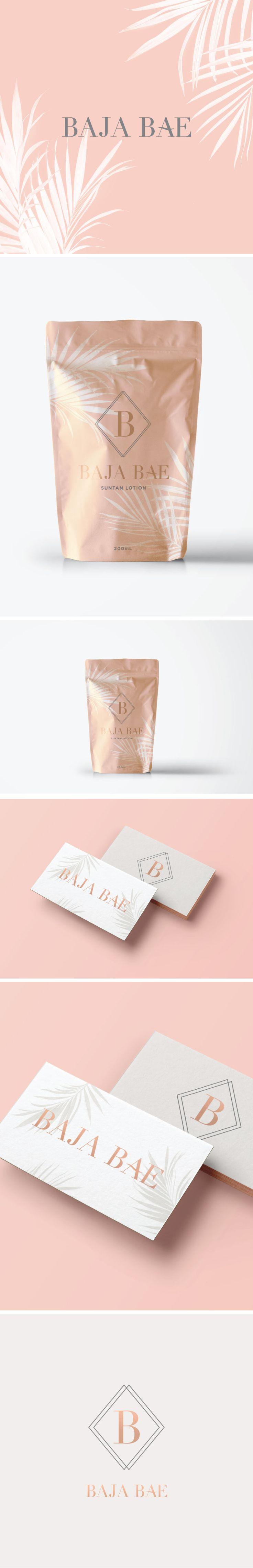 packaging design, logo design, branding, logo, copper foil, business cards, business card design, design, blush logo, palm leaves, palms, beach logo