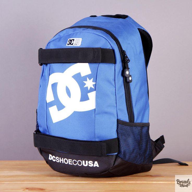 Plecak z uchwytem na deskorolkę DC Seven Point 5 Neutical Blue - kolor niebiesko-czarny / www.brandsplanet.pl / #dc shoes #skateboarding