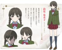 Izumiko Suzuhara - Red Data Girl Wiki - Wikia