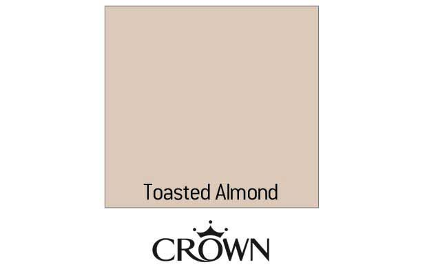 Crown Silk Emulsion Paint - Toasted Almond - 5L
