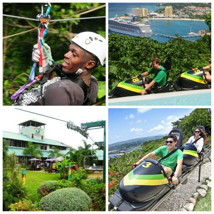 Mystic Mountain is the Hottest New Attraction in Jamaica; located in Ocho Rios, just minutes from the World's famous Dunn's River Falls. The three-in-one Tranopy package offers: Sky Explorer, Bobsled and Zipline Canopy. Positioned prominently at…