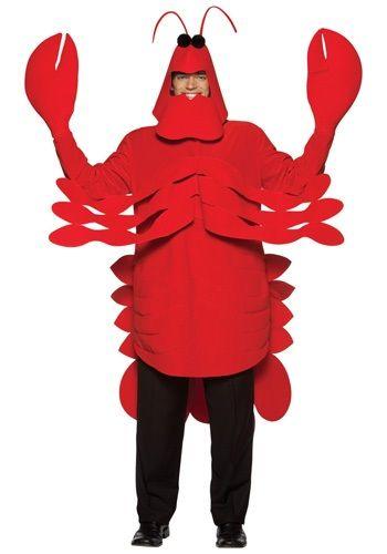 Adult Lobster Costume - Adult Lobster Animal Halloween Costumes