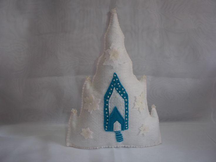 Castelo de Gelo de Elsa Frozen