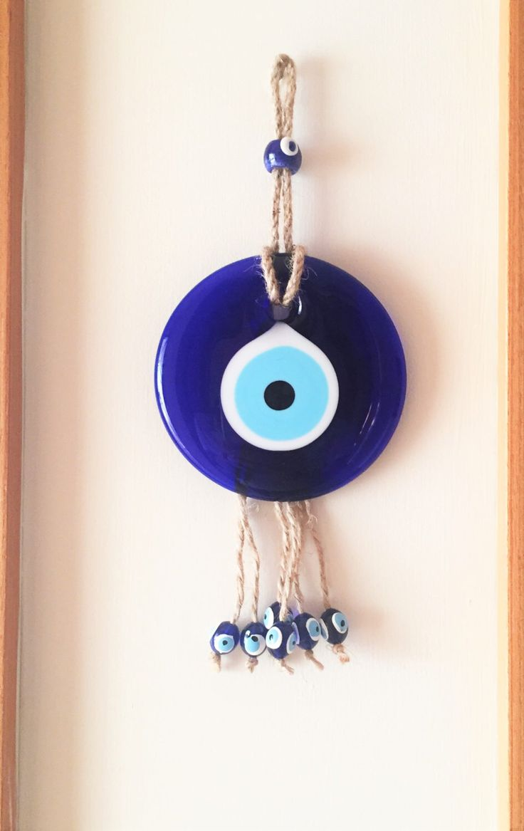 A personal favourite from my Etsy shop https://www.etsy.com/listing/290002399/evil-eye-wall-hanging-evil-eye-charm