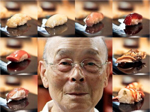 """Jiro Dreams of Sushi - I am really sort of in love with the movie """"Jiro Dreams of Sushi"""". If you've ever wanted to perfect a craft, no matter what you do, you should see this film.  One of the many wonderful quotes by Jiro, """"You must fall in love with your work,"""" is completely evident in everything he does.  (Too bad I don't eat sushi.)"""