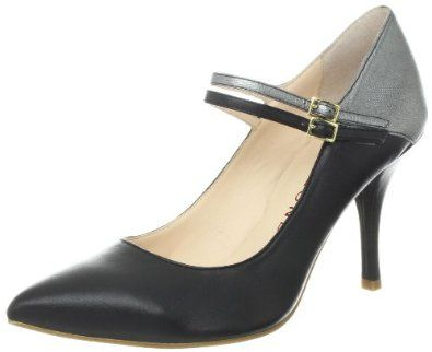 "Sacha London Women's Nell Mary Jane Pump Sacha London. $145.00. Made in China. Heel measures approximately 3.5"". Manmade sole. leather"