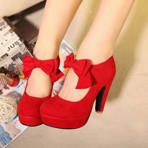They are just about the most perfect pinup shoes. Free Shipping Fashion Bow W..