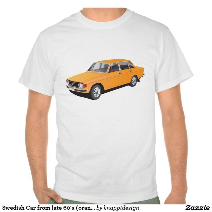Volvo 144 from early 70's  #volvo #volvo144 #volvo140 #tshirt #ttröja #tröja #tshirts #skjorta #svenska #sverige #swedish #sweden #classic #car #automobile #auto #bilar #tpaita #illustration