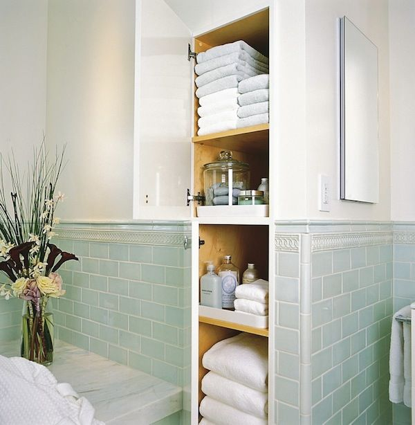 built in storage/closet in bathroom, just a pic/ ideal no real story at this link