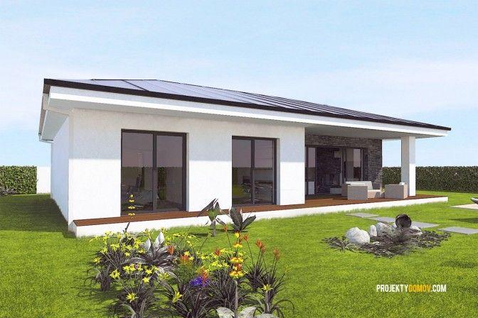 Projekt domu bungalov EKO120