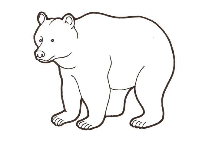 Kuvahaun tulos haulle piirretty karhu