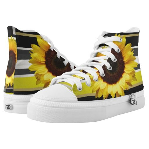 Sunflower Printed Shoes