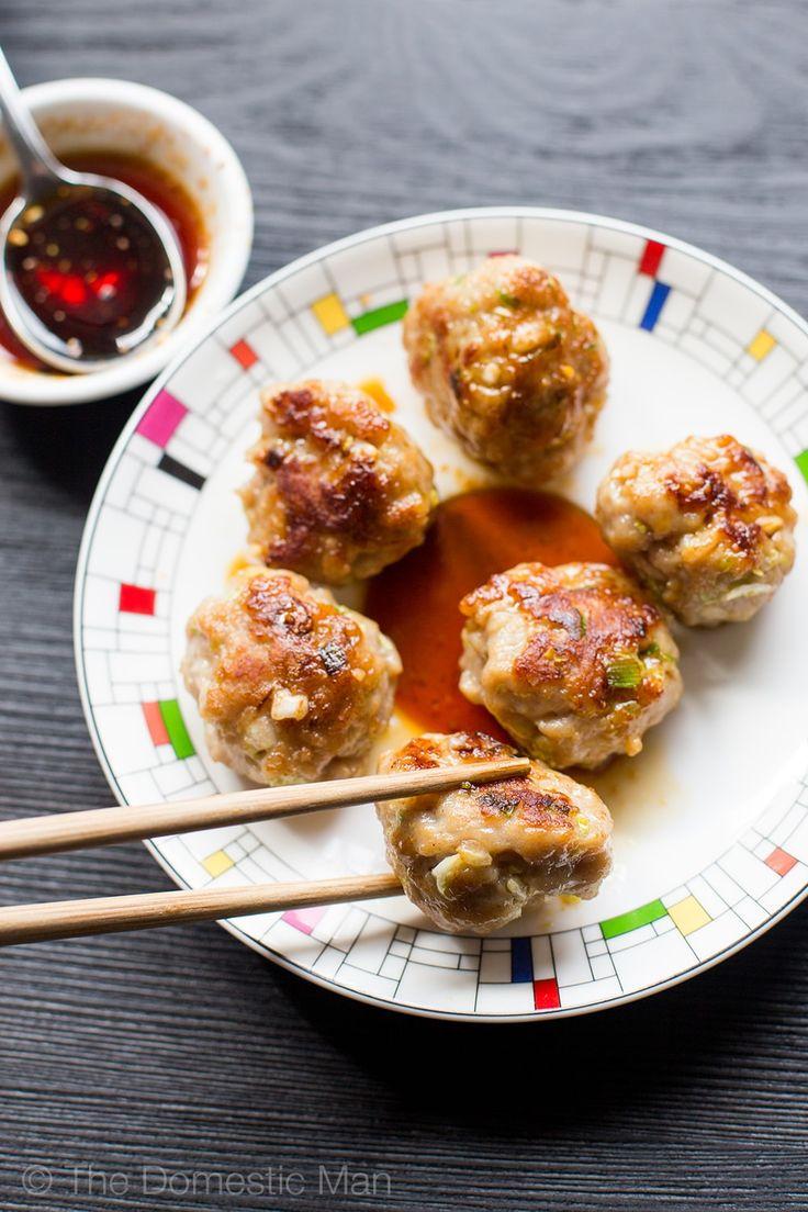 Paleo Gyoza Bites – gluten-free, low-carb, healthy gyoza alternatives. Click here for recipe: http://eatdrinkpaleo.com.au/paleo-gyoza-bites-recipe/