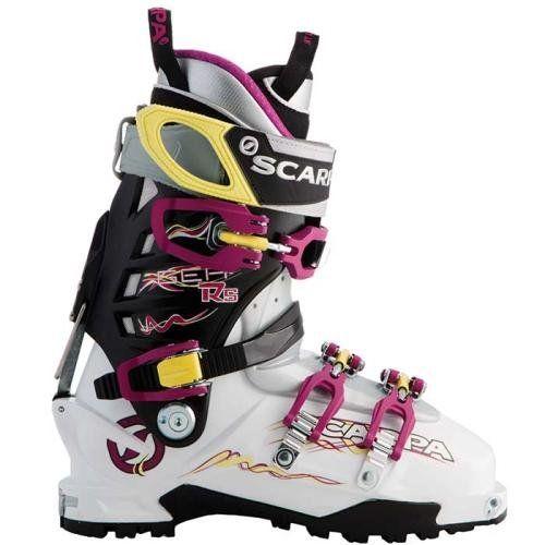 Scarpa Gea RS Ski Boot - Women's Ski boots 25.5 White/Magenta/Limelight