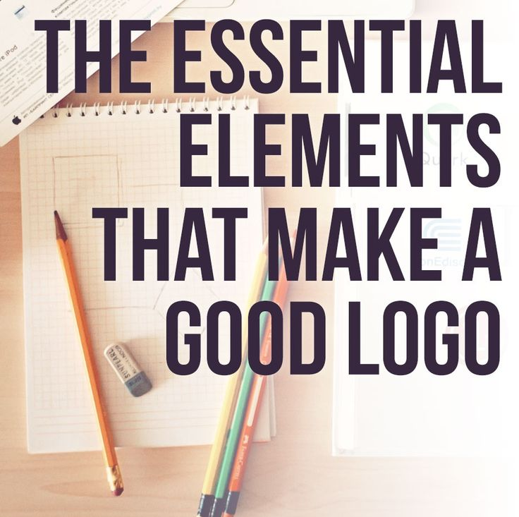 the essential elements of a good logo