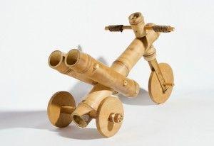 Moto de bambu