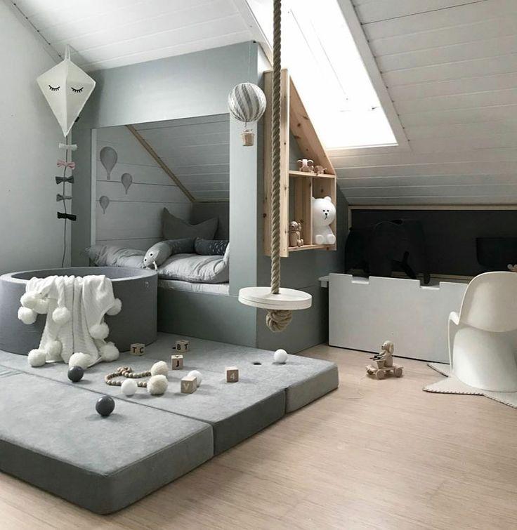 Dachbodenzimmer einrichten mit diesen tollen DIY Dekoideen