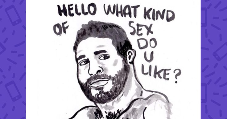 We're not sure if we should laugh or cry.  #dating #apps #tinder #online #dating #illustrations http://greatist.com/live/illustrations-show-the-terrible-pickup-lines-guys-use-on-dating-apps