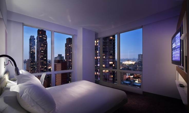 Cabin  Executive View Yotel Manhattan  Hotel  Nyc