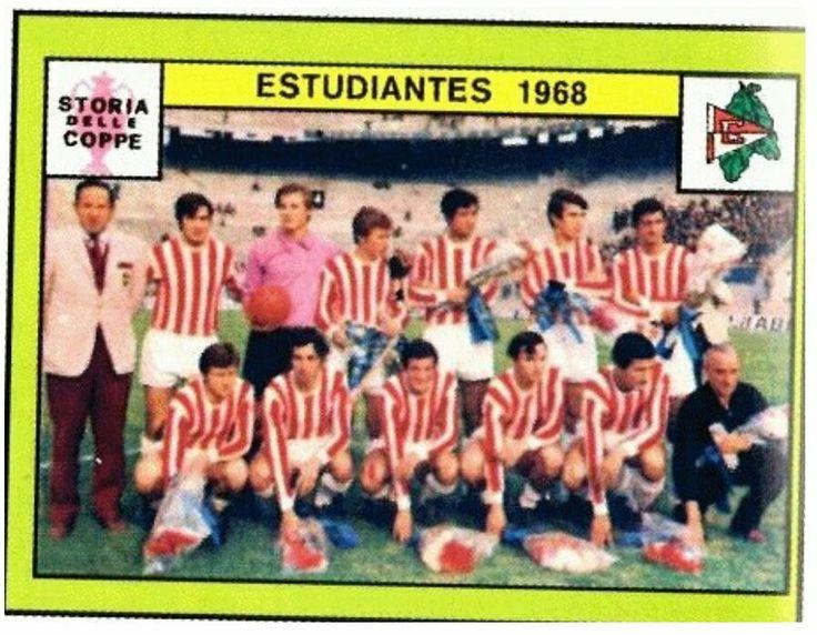 Estudiantes of Argentina team group in 1968.