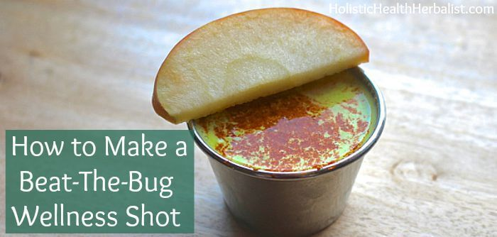 There's nothing worse than coming down with a nasty bug during the summer months. Learn how to make a wellness shot to support immunity!