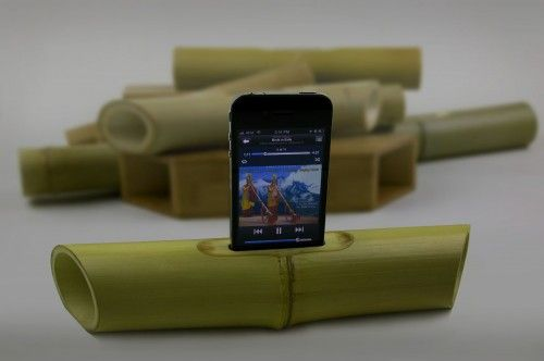 another wireless speaker option -: Iphone Speakers, Ipod Speakers, Ibamboo Speakers, Gadgets, Ibamboo Iphone, Low Tech, Bamboo Crafts, Techno Ideas, Amplifi Sound