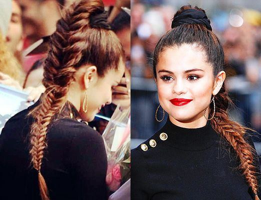 Scrunchie Hair Styles: Celebrity-scrunchies-selena-gomez