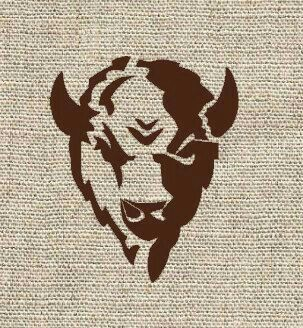 28 best wood badge buffalo totem ideas images on pinterest buffalo tattoo bison tattoo and. Black Bedroom Furniture Sets. Home Design Ideas