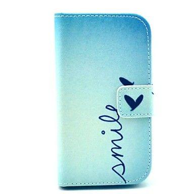 hymy kuvio pu leahter koko kehon kansi jalustan ja korttipaikka Samsung Galaxy Ace 4 g313h – EUR € 7.67