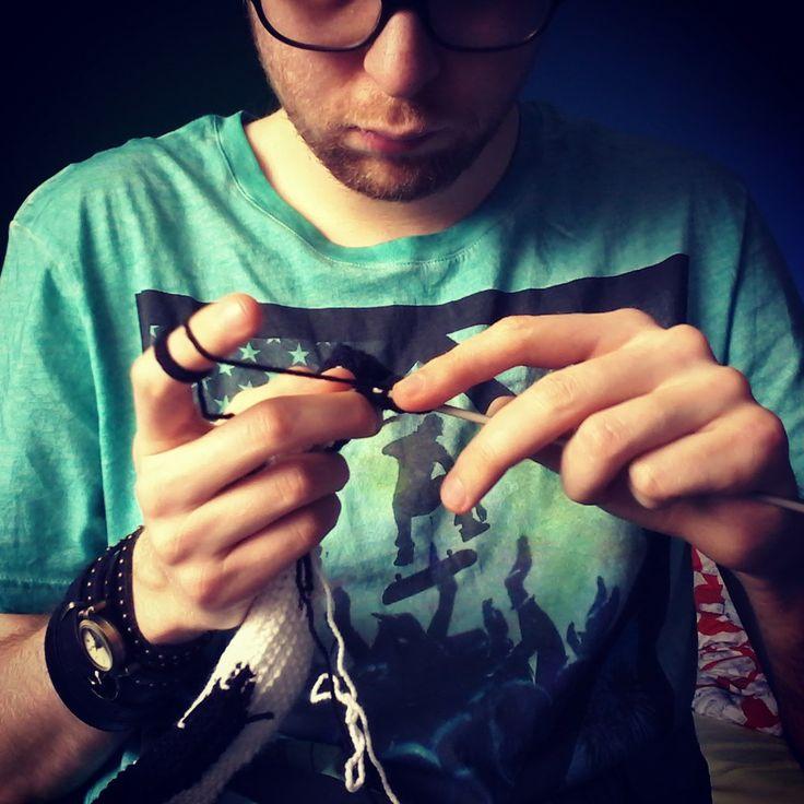 #crochet #knit #menwhocrochet