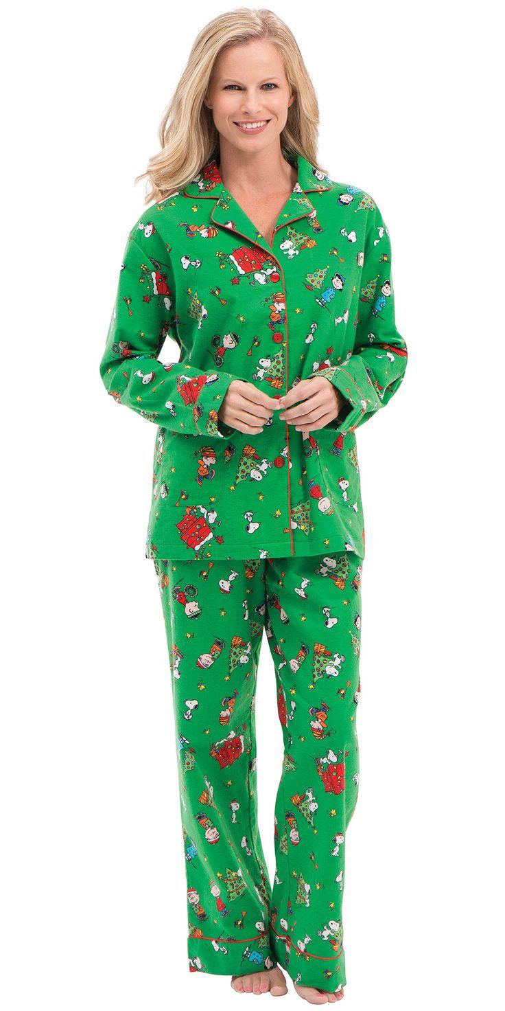 Charlie Brown Christmas Women's Pajamas Pajamas women