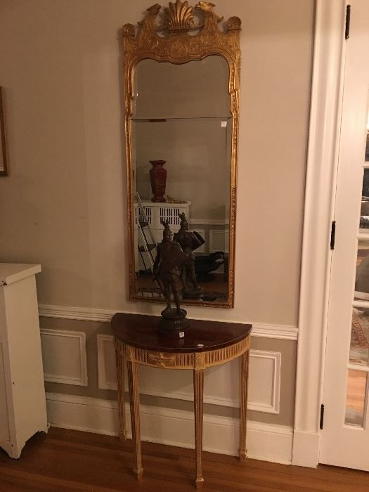 Found On EstateSales.NET: Pair Of Antique French Pier Mirrors And Pair Of  French