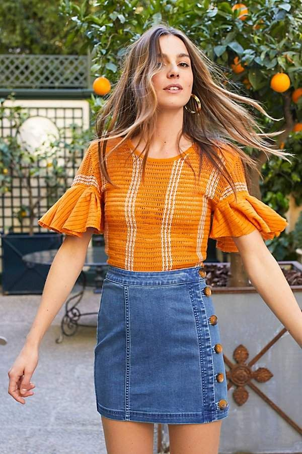 Striped Babes Only Tee by Free People