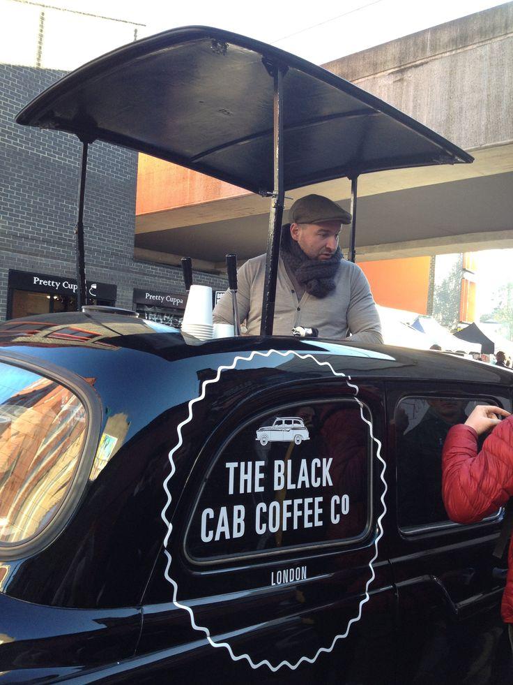 Coffee cab, Bricklane Londen
