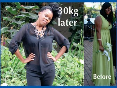 Phumla lost 30kg with her TLC-Program.  Read her story here:  http://tlcforwellbeing.com/phumla-a-112.html or go to www.tlcforweightloss.eu