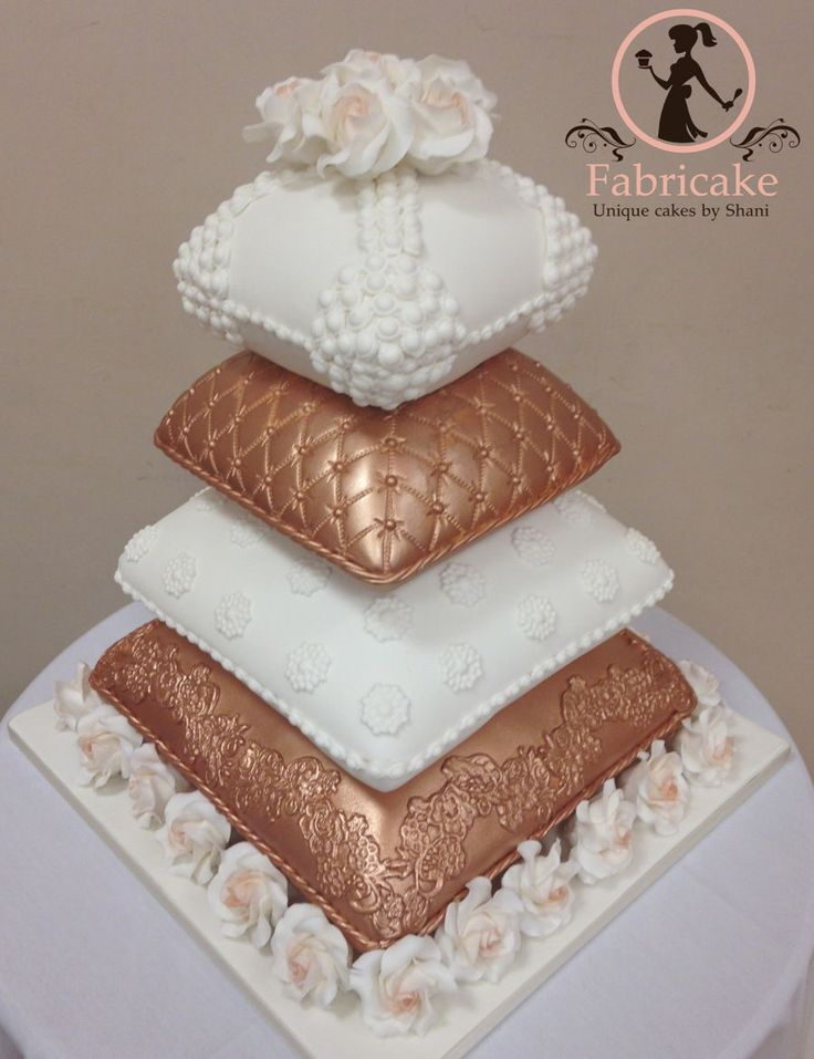 Pillow Wedding Cake Pillow wedding cake