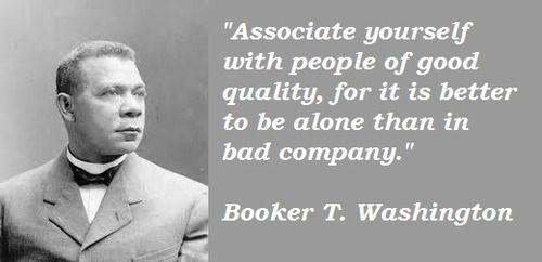 Booker T. Washington Quotes Booker t Washington quote
