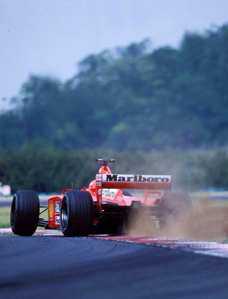 Merveilleux Schumacher, Ferrari F2001, Hungarian GP 2001.