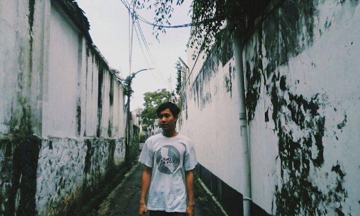 Road Alley Jl. Sukajadi Bandung, Indonesia