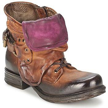 Boots+Airstep+/+A.S.98+SAINT+METAL+LOW+Camel+199.00+€
